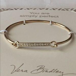 NWT Vera Bradley Sparkling Bar Bracelet